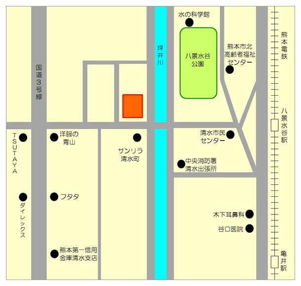 八景水谷昭和館の周辺地図